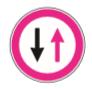 Şekildeki trafik işareti aşağıdakilerden hangisini bildirir?