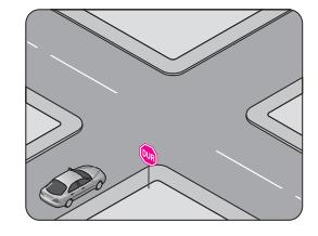 Şekildeki durumda sürücünün hangisini yapması zorunludur?