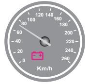Aracın gösterge panelinde, şekilde görülen akü şarj ikaz ışığı yandığı hâlde araç sürülmeye devam edilirse aşağıdakilerden hangisinin olması beklenir?