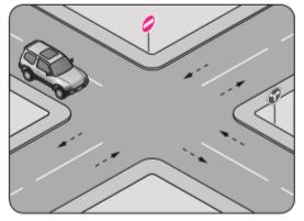 Şekildeki aracın sürücüsü aşağıdakilerden hangilerini yapabilir?
