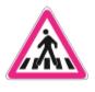 Şekildeki trafik işaretini gören sürücünün aşağıdakilerden hangisini yapması yanlıştır?