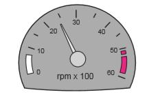 Aracın gösterge panelinde bulunan şekildeki gösterge sürücüye neyi bildirir?
